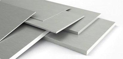 Алюминиевая плита выпускается в разных пропорциях длин и ширин