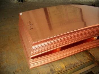 Для изготовления медного листа используются технологии холодной или горячей прокатки