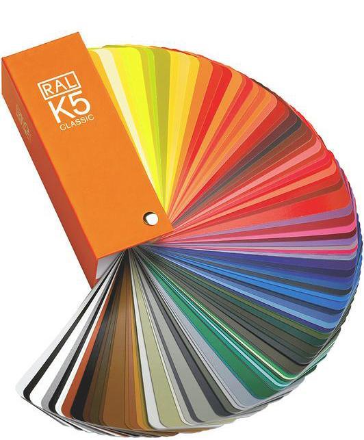 Профнастил RAL может быть окрашен в любые цвета и оттенки