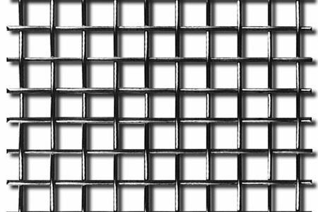 Тканая сетка изготавливается по тому же принципу, что и ткацкая материя
