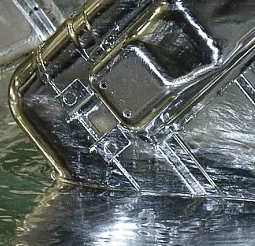 После нанесения слоя цинка металл приобретает приятный блеск