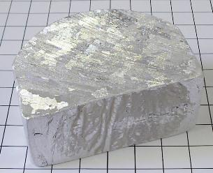 Особо чистый алюминий отличается оригинальной внешностью