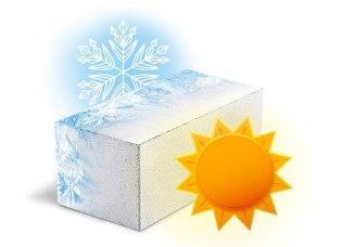 Блокам Hebel не страшны ни морозы, ни жара