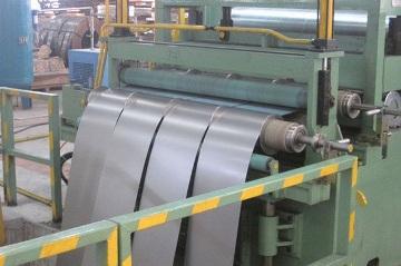 Продукт продольной резки металла - штрипс