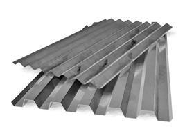 Профнастил широко используется в строительных нуждах