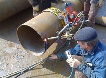 Нарезка фаски намного улучшает способность трубы к монтажу