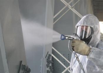 Цинкование может производиться методом напыления