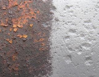 Пескоструйная обработка старого металла преображает его до неузнаваемости